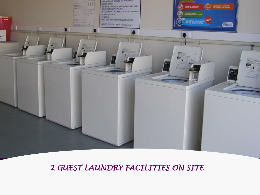 2 GUEST LAUNDRY FACILITIES ON SITE