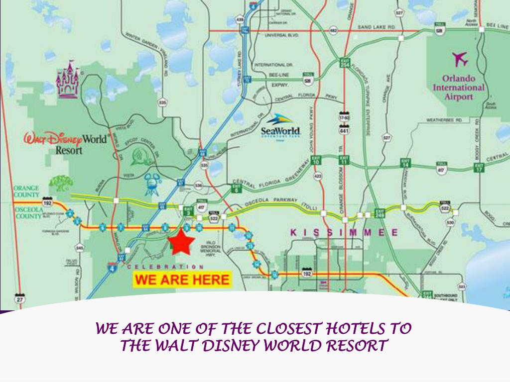 WE ARE ONE OF THE CLOSEST HOTELS TO THE WALT DISNEY WORLD RESORT