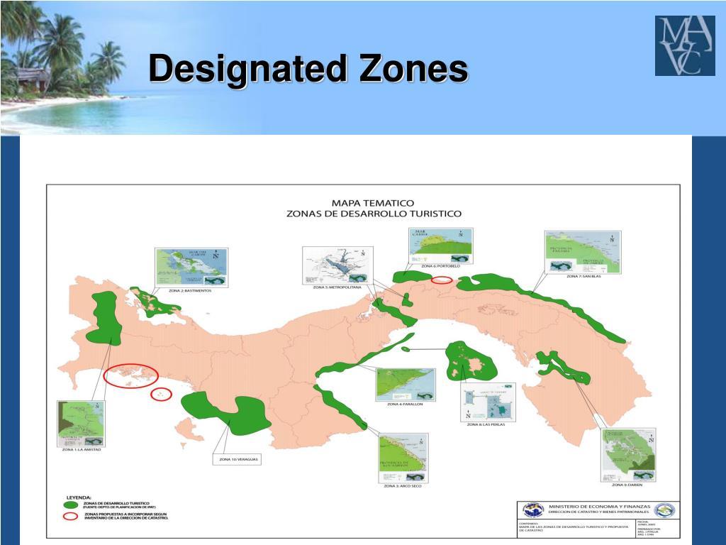 Designated Zones