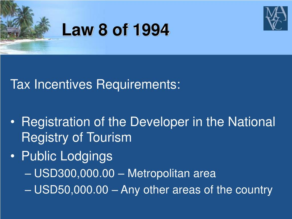 Law 8 of 1994