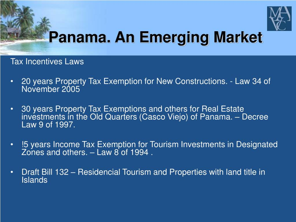 Panama. An Emerging Market