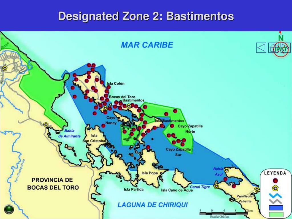 Designated Zone 2: Bastimentos