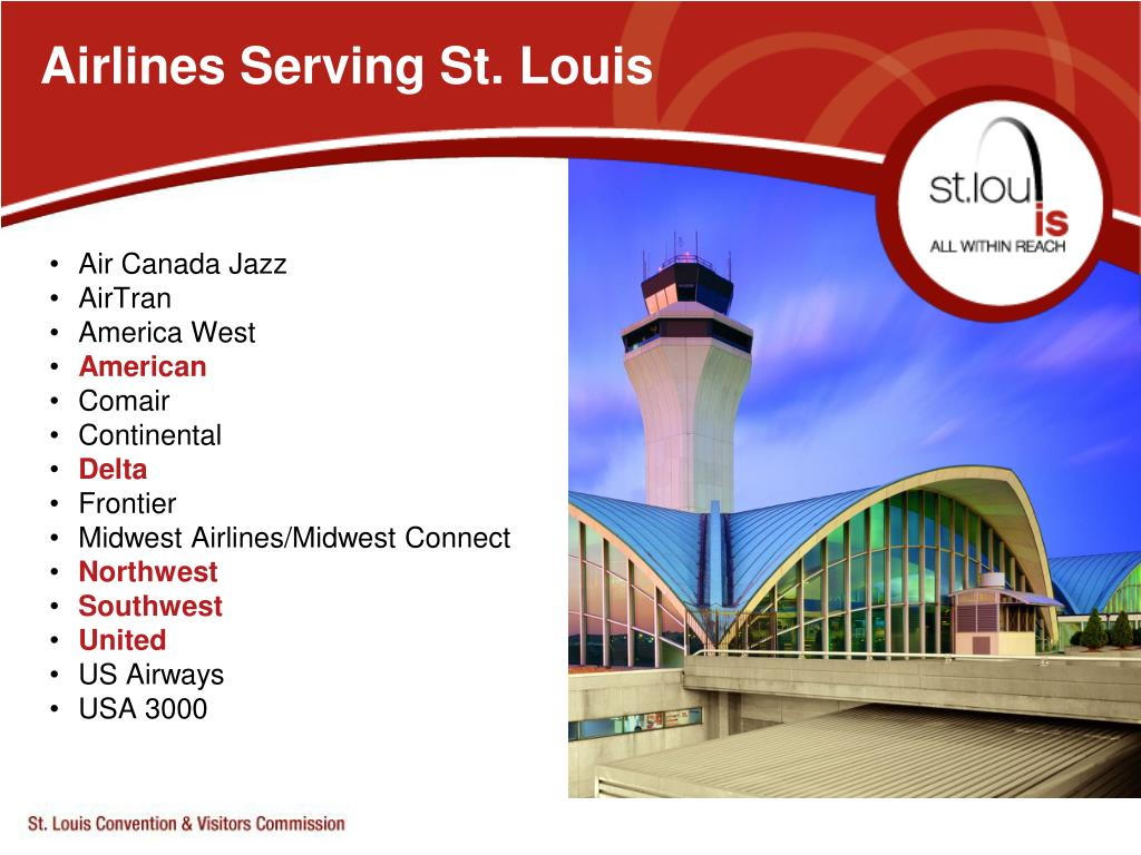 Airlines Serving St. Louis