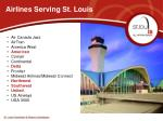 airlines serving st louis
