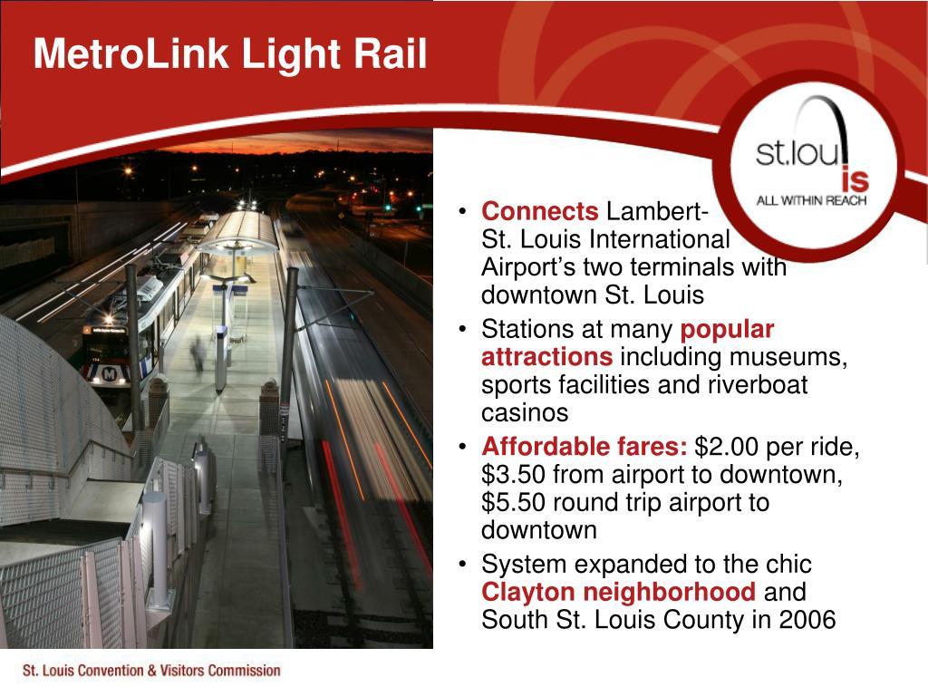 MetroLink Light Rail