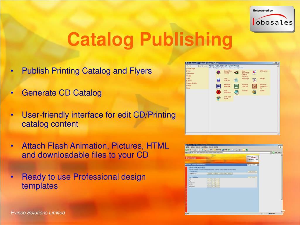 Catalog Publishing