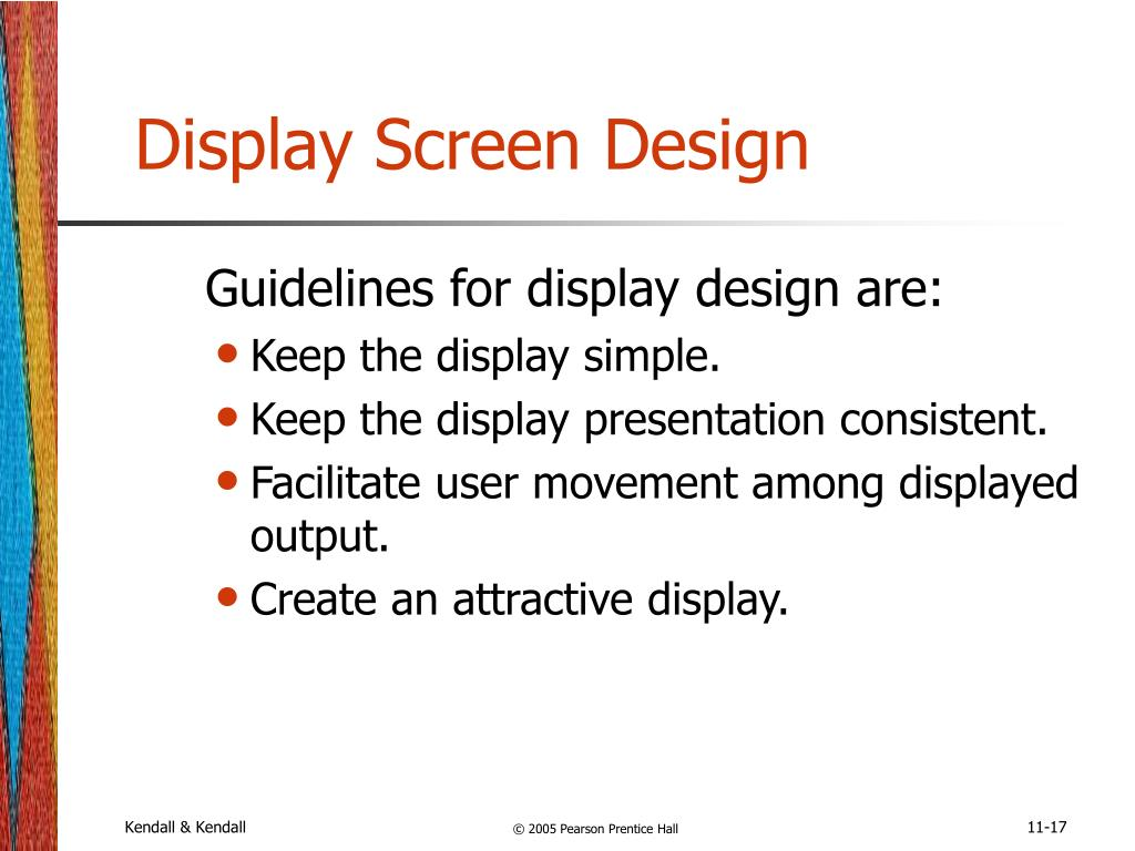 Display Screen Design