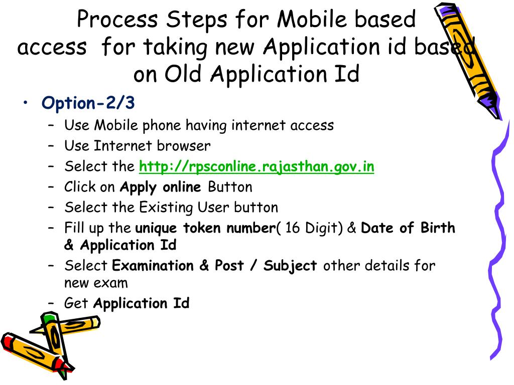 Process Steps for Mobile based