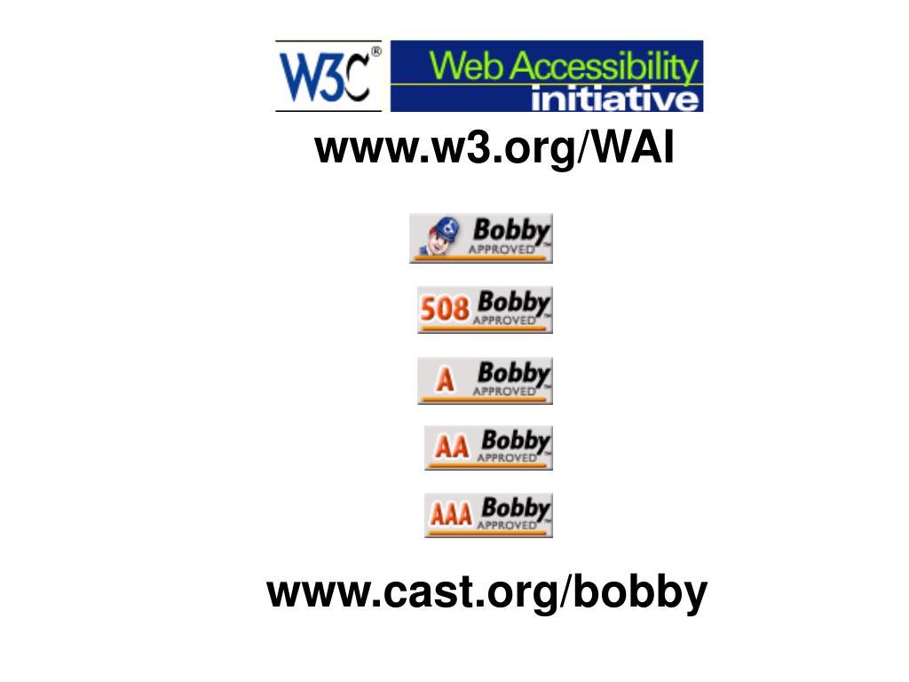 www.w3.org/WAI