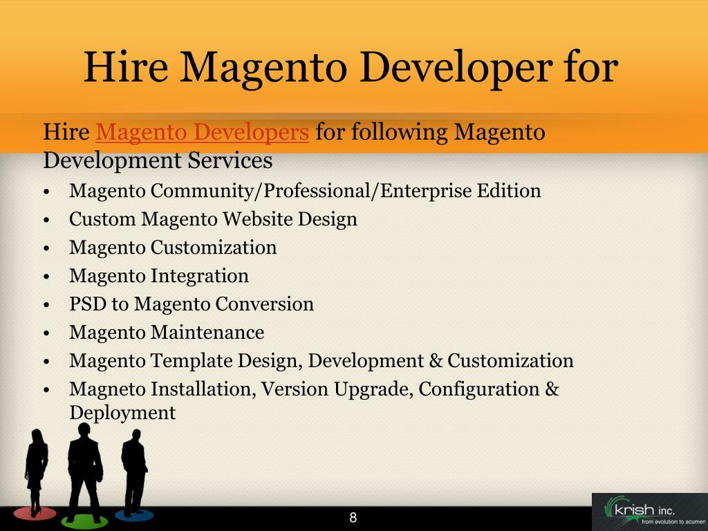 Hire Magento Developer for