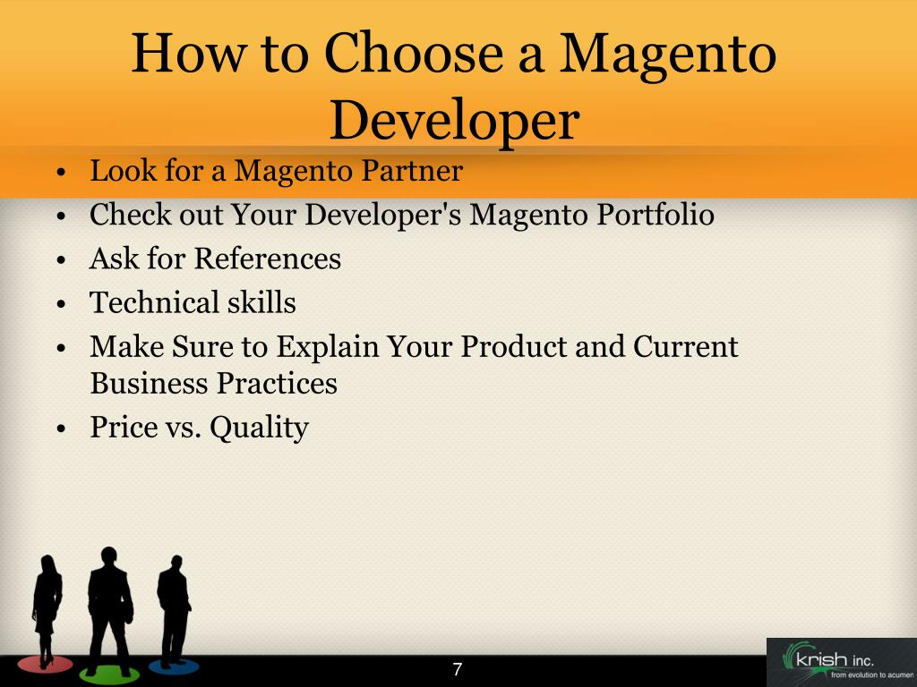 How to Choose a Magento Developer