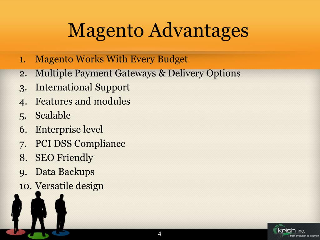 Magento Advantages