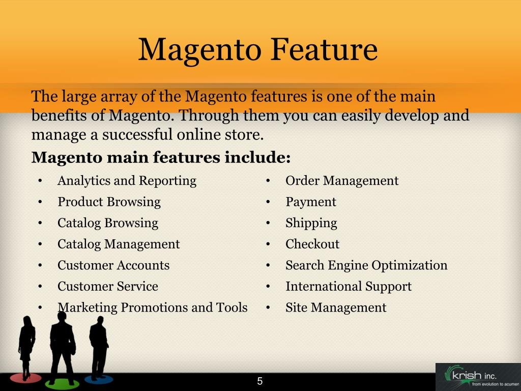 Magento Feature