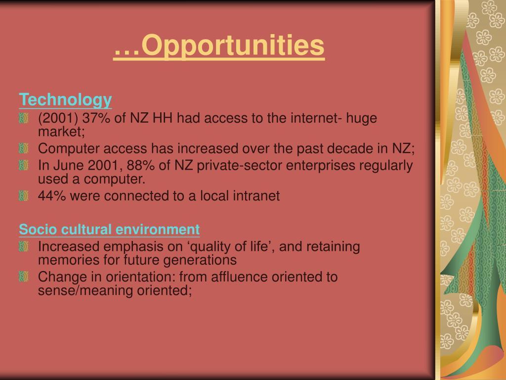 …Opportunities