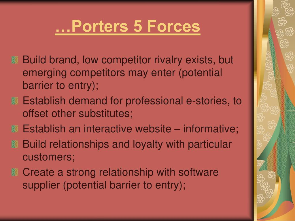 …Porters 5 Forces