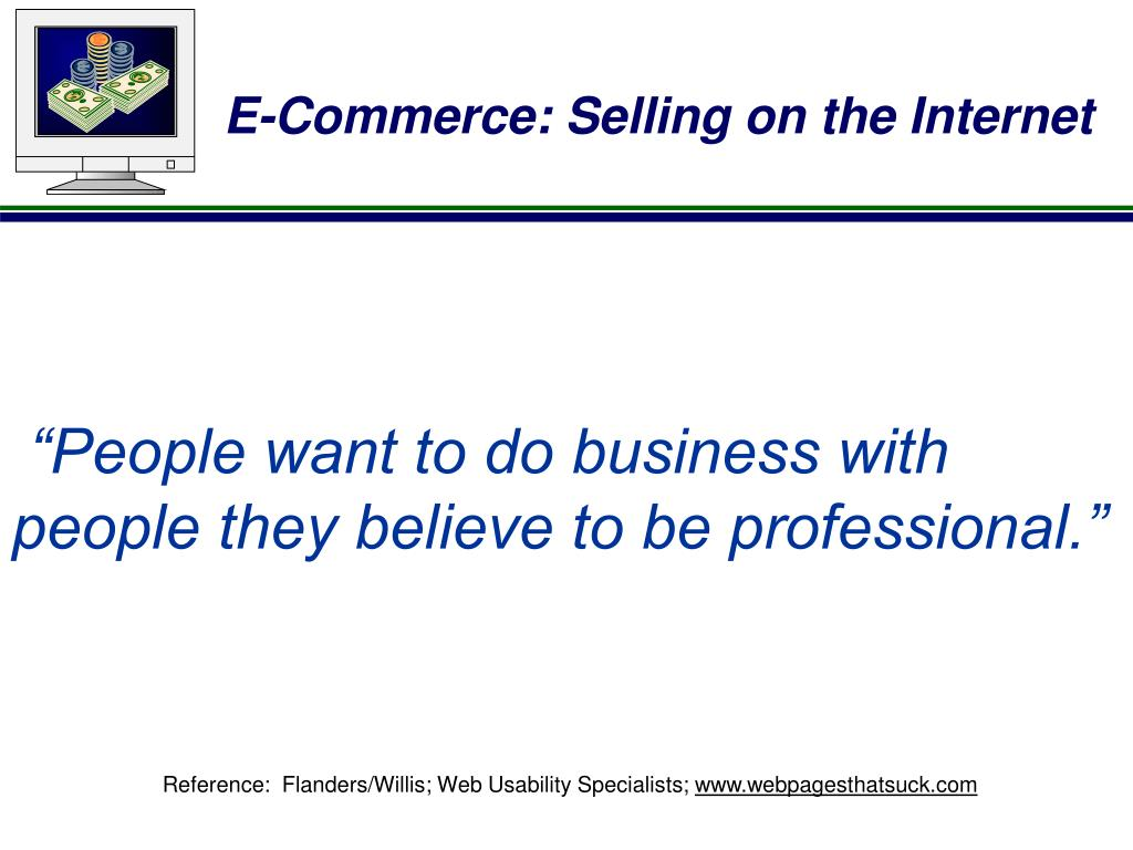 """""""People want to do business with"""
