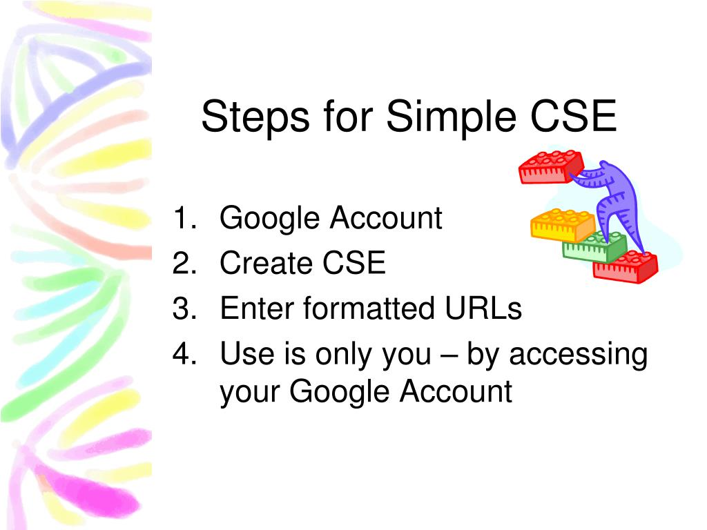 Steps for Simple CSE