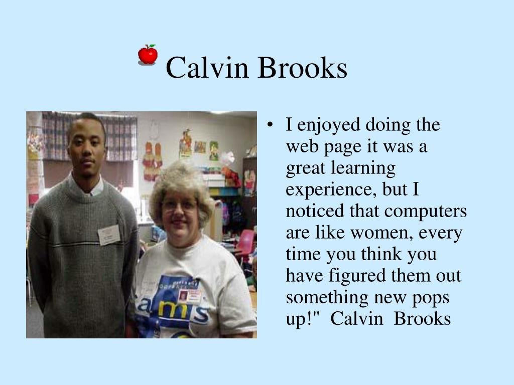 Calvin Brooks