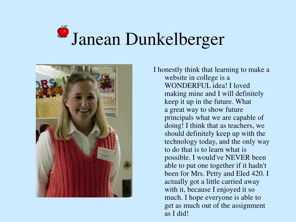 Janean Dunkelberger