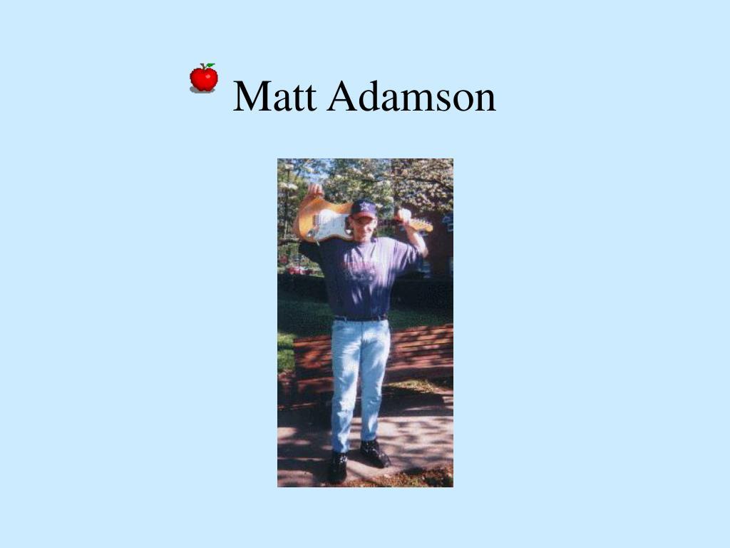 Matt Adamson