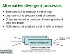 alternative divergent processes