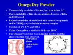 omegadry powder