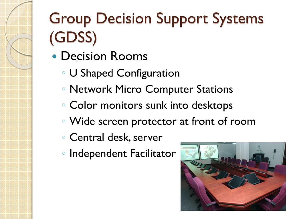 Group Decision Support Systems (GDSS)
