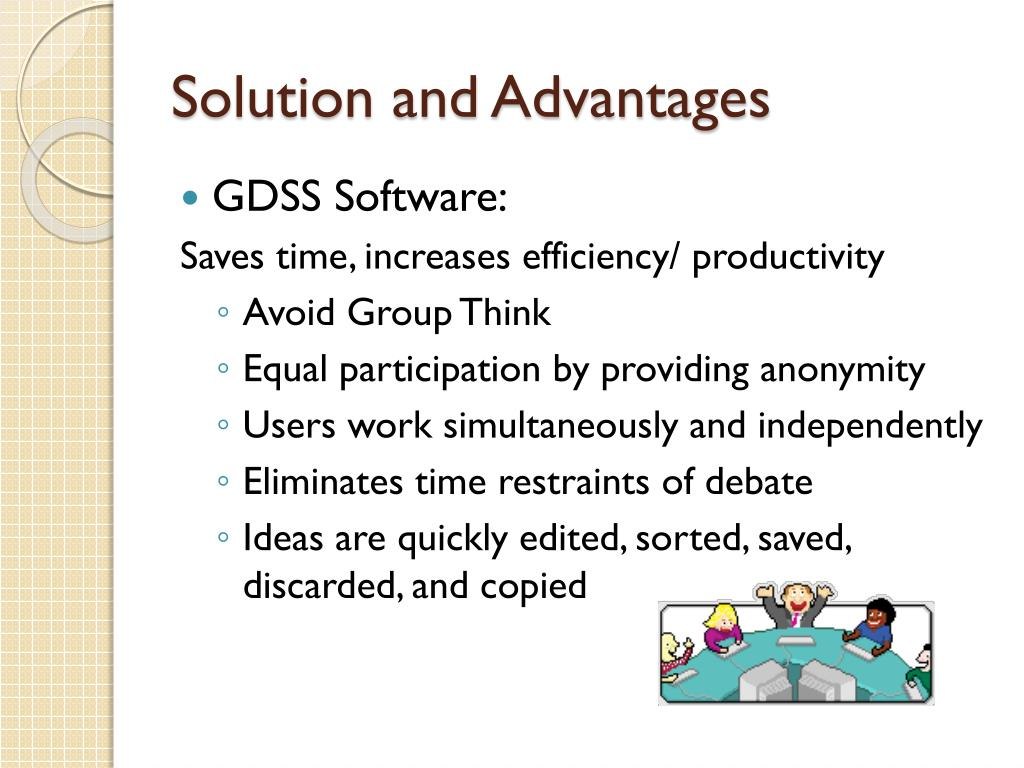 Solution and Advantages