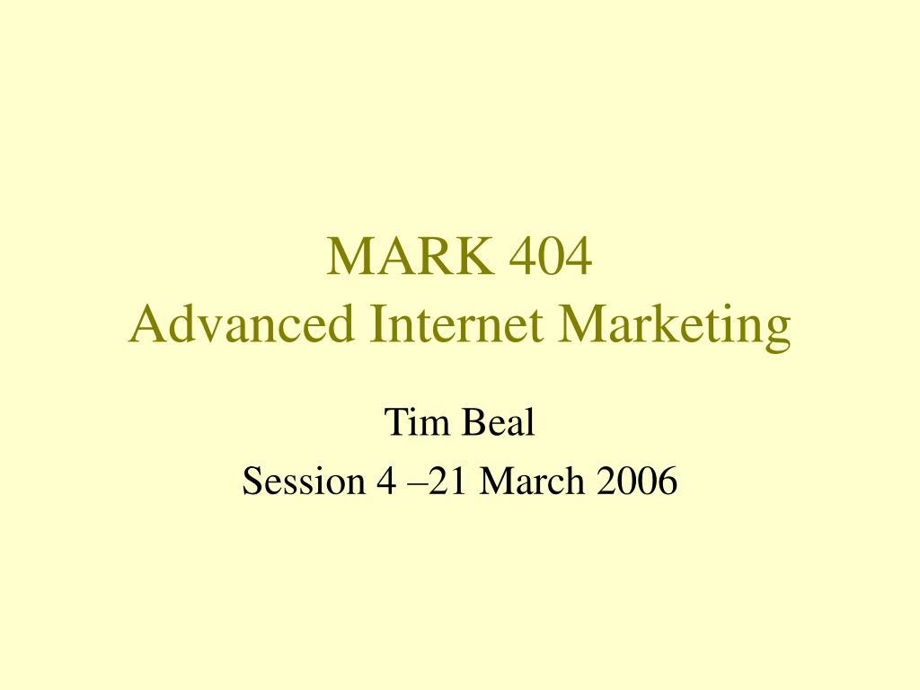 MARK 404