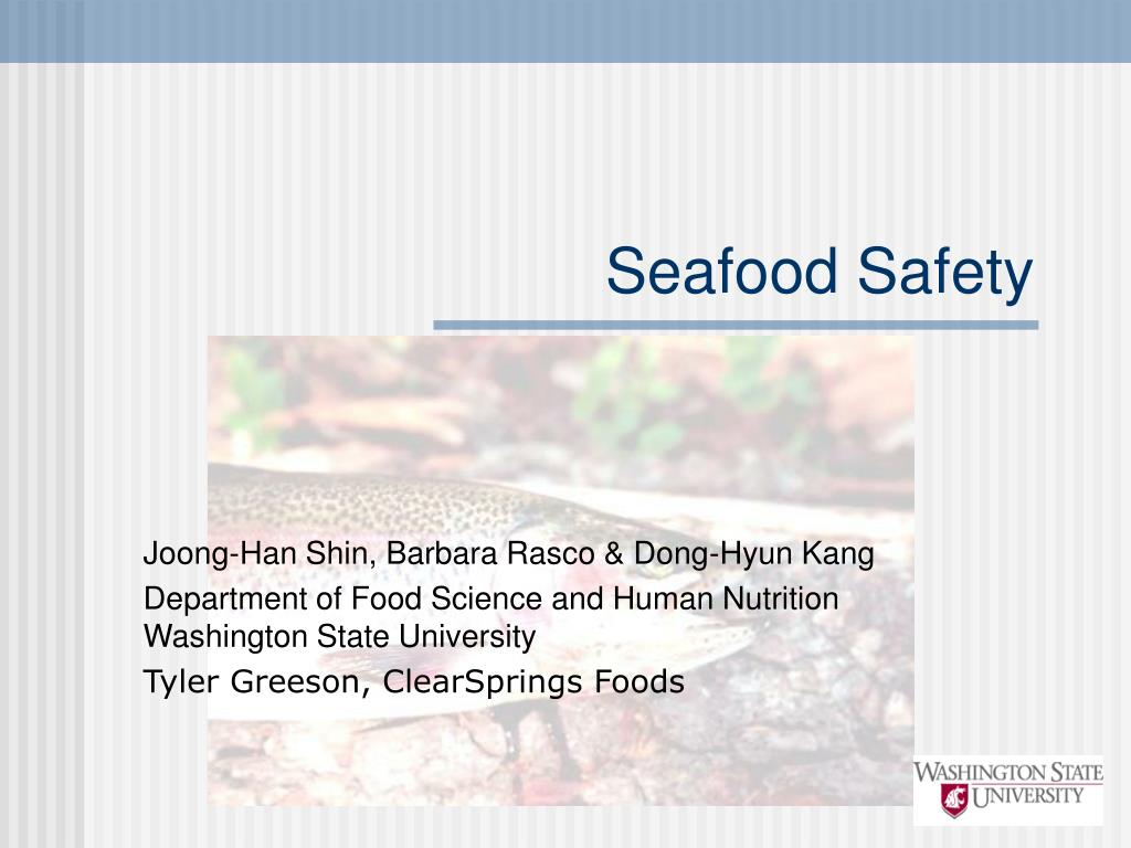 seafood safety