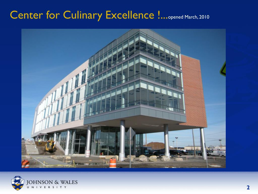 Center for Culinary Excellence !...