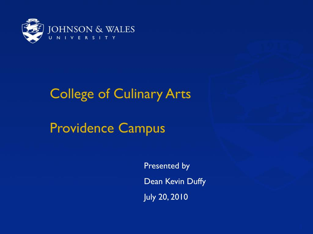 College of Culinary Arts