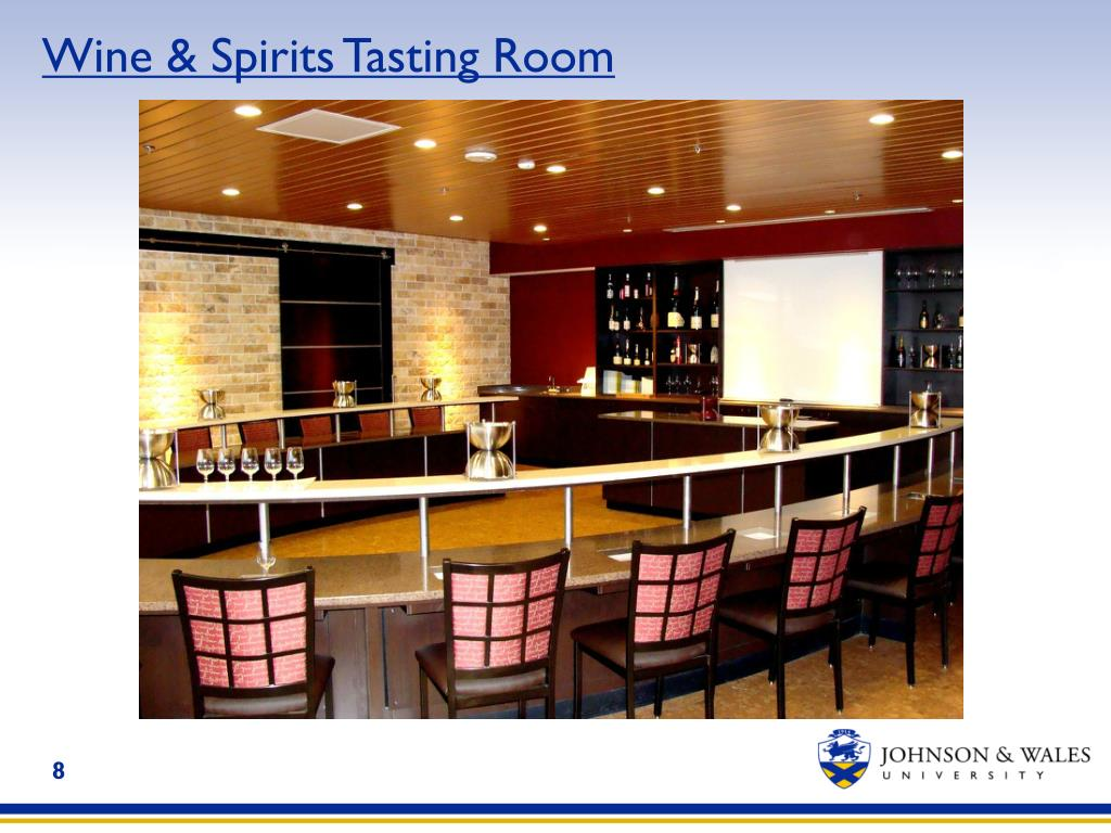 Wine & Spirits Tasting Room