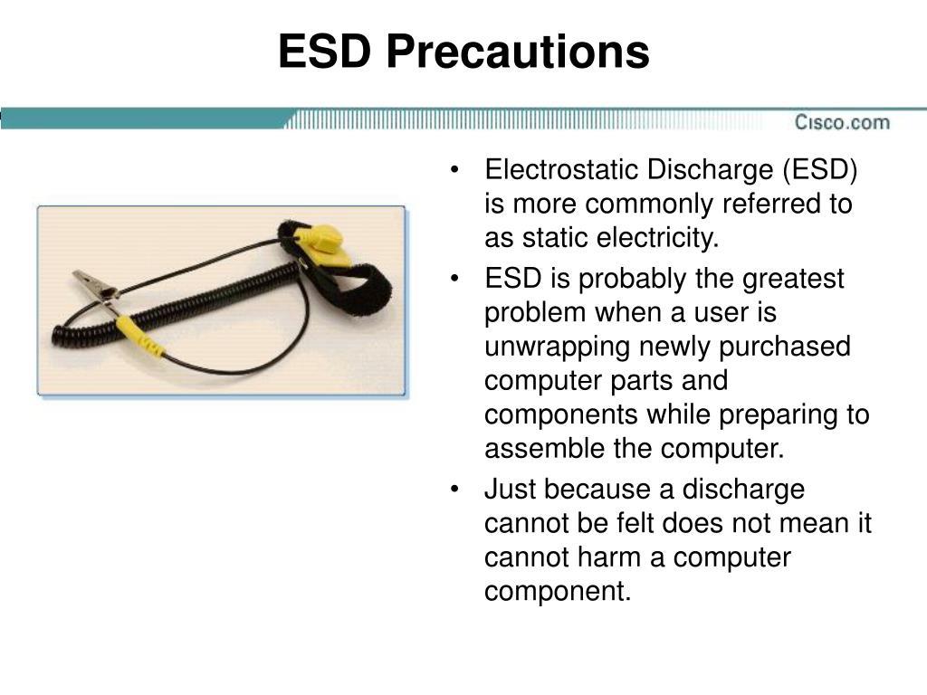 ESD Precautions