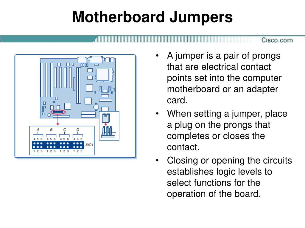 Motherboard Jumpers