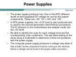 power supplies16