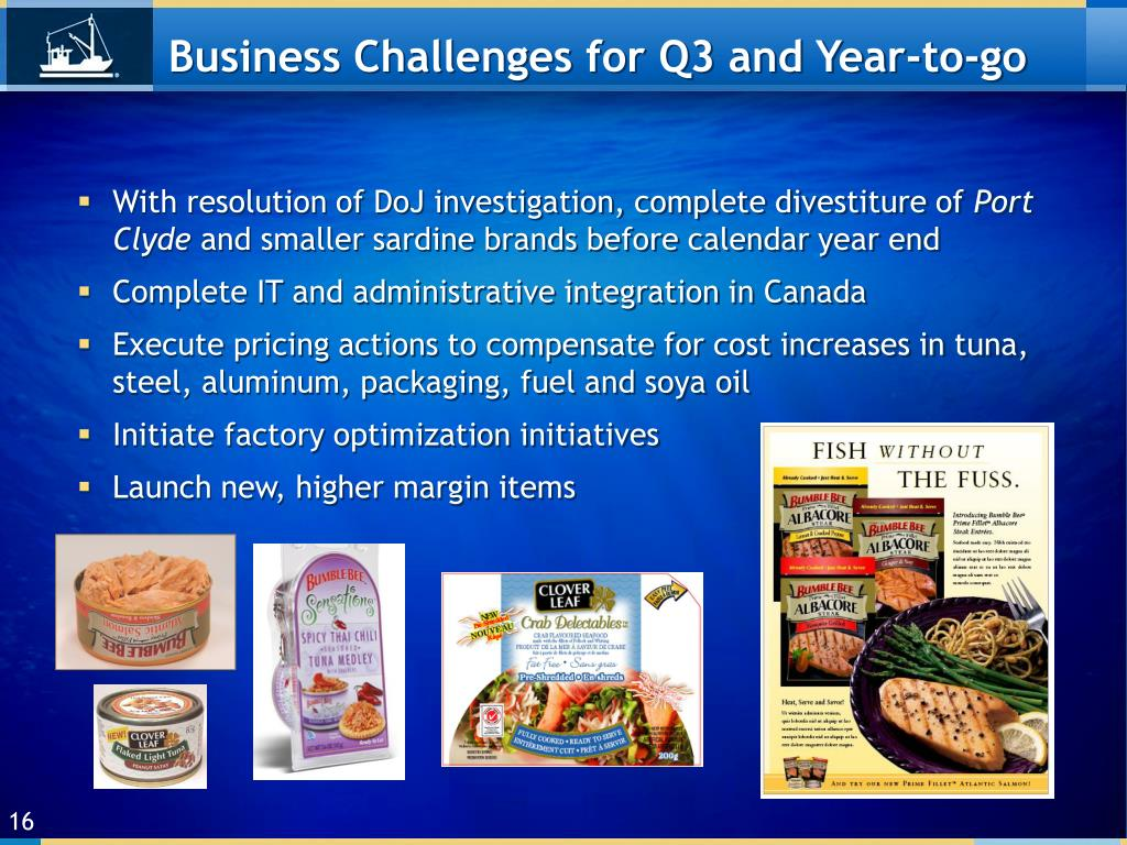 Business Challenges for Q3 and Year-to-go