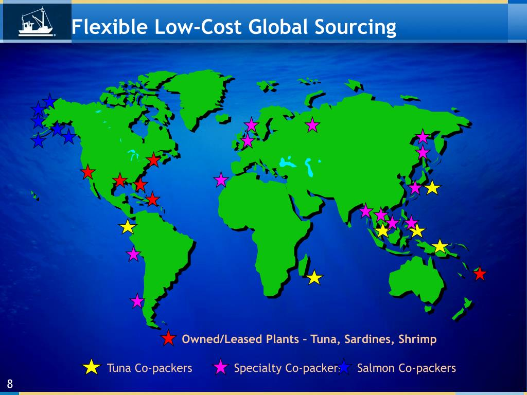 Flexible Low-Cost Global Sourcing