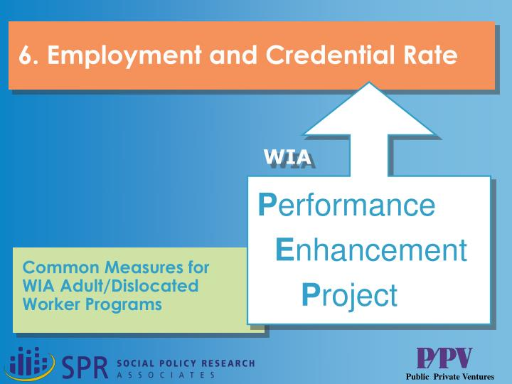 Employment and credential rate l.jpg