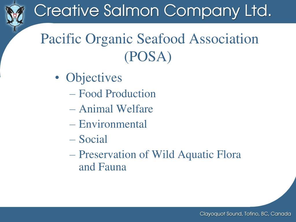 Pacific Organic Seafood Association