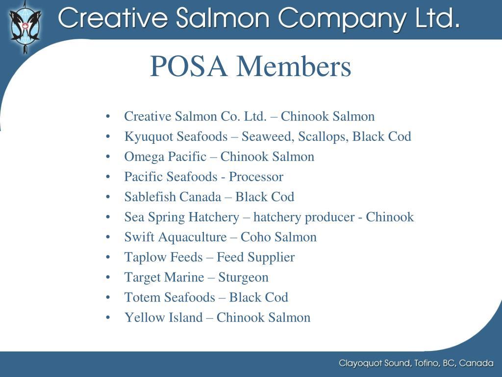 POSA Members