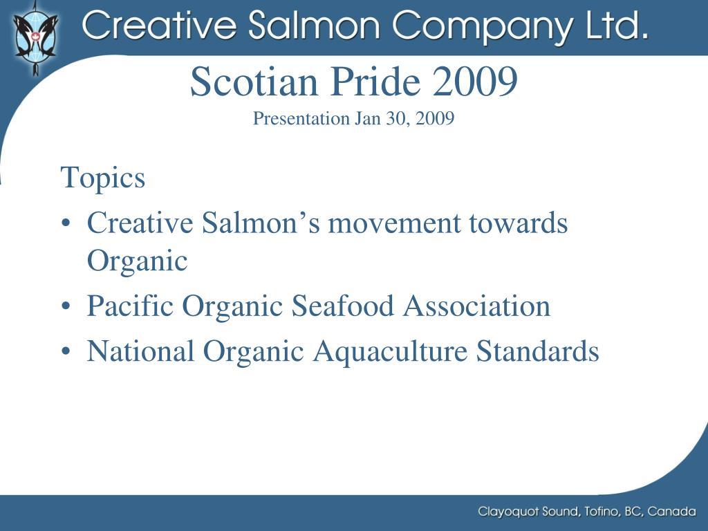 Scotian Pride 2009