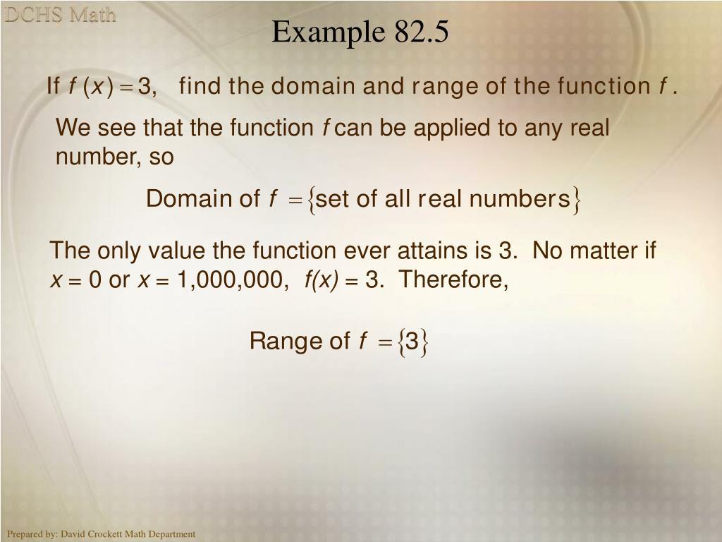 Example 82.5