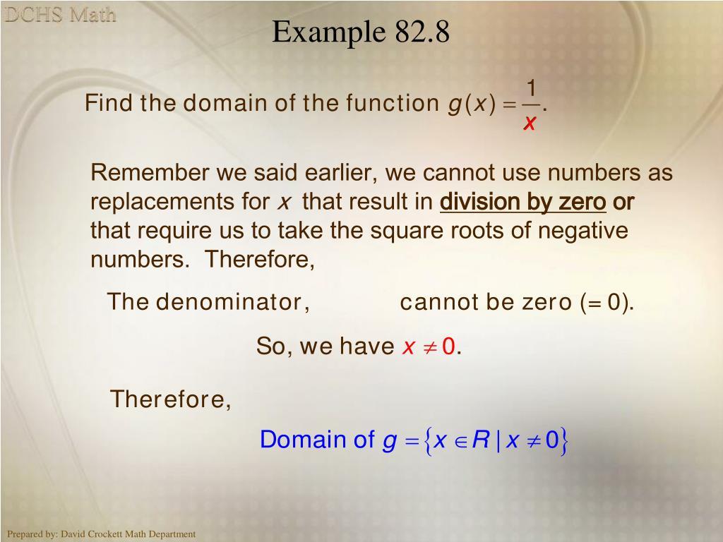 Example 82.8