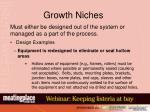 growth niches49