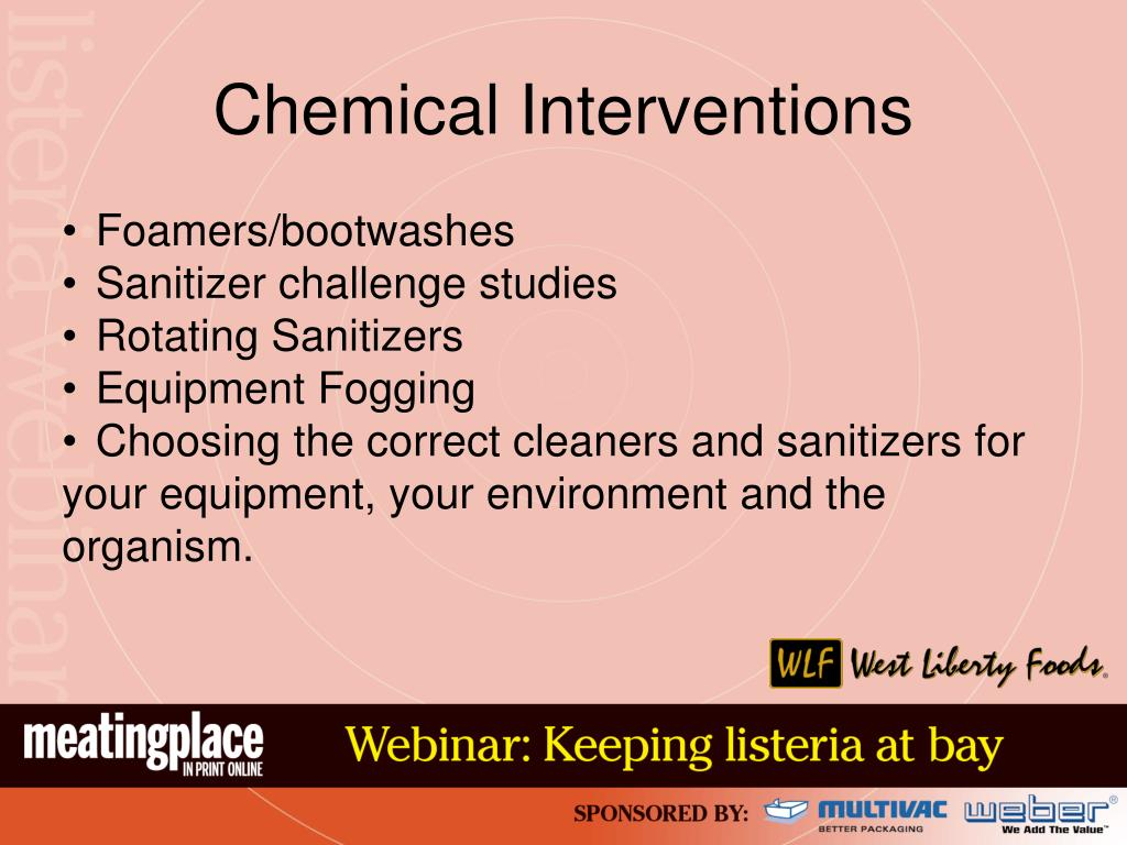 Chemical Interventions