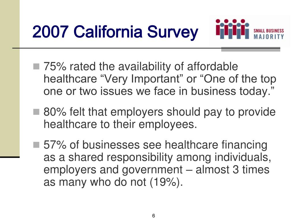 2007 California Survey