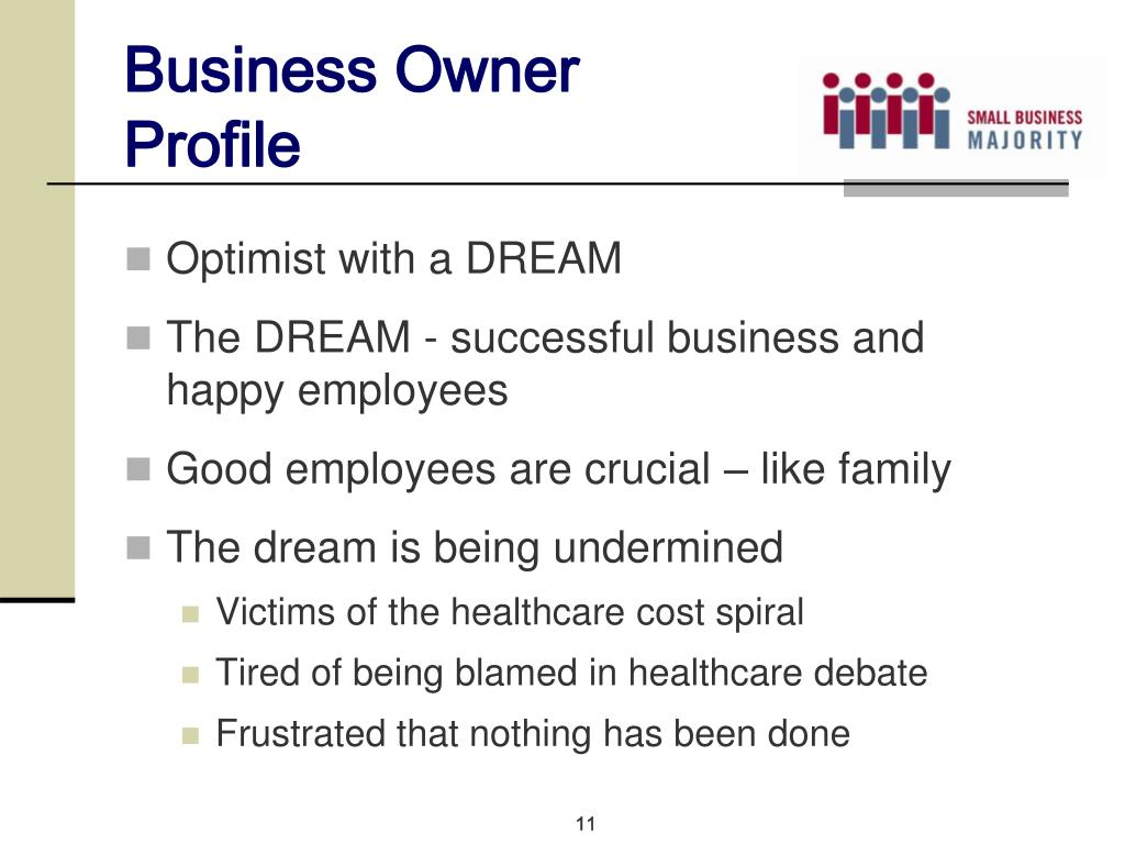 Business Owner Profile