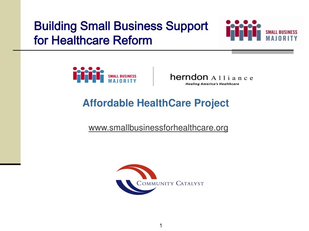 Building Small Business Support for Healthcare Reform