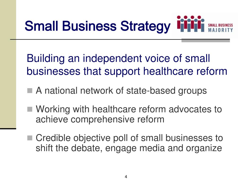 Small Business Strategy